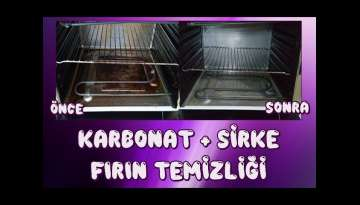 Fırın içi temizliği, karbonat ve sirke,How to Clean Oven Naturally with Baking Soda Tutorial