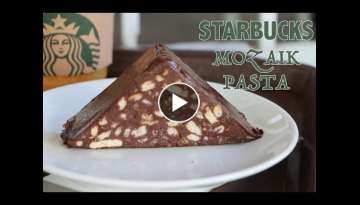 STARBUCKS Mozaik Pasta / Chocolate cake Starbucks / Шоколадный торт Старбак�...